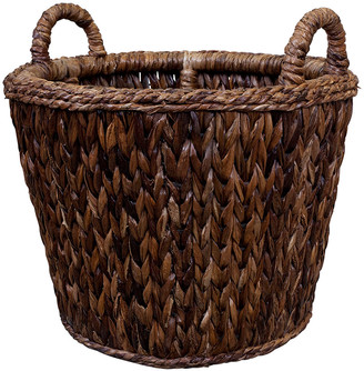 Mainly Baskets Sweater Weave Havana Log Basket
