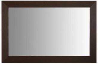 "Pendleton Espresso Framed Mirror, 20""x54"""