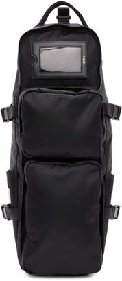 Juun.J Black Nylon Backpack