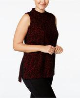 MICHAEL Michael Kors Size Lace-Print Tunic