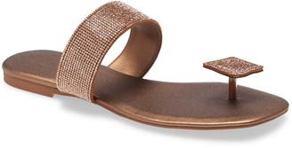 Jeffrey Campbell Alise Rhinestone Thong Sandal