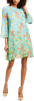 Donna Morgan Chiffon Swing Dress