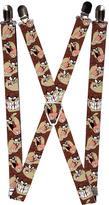 Looney Tunes Tasmanian Devil Suspenders