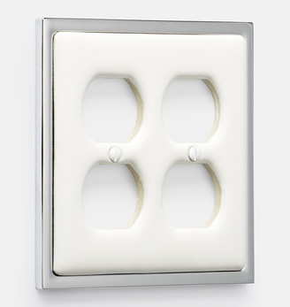 Rejuvenation Clark Double Duplex Switchplate