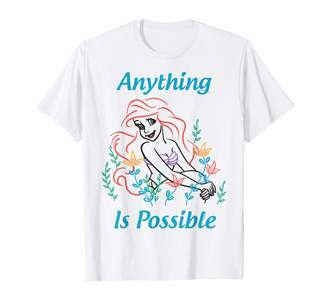 Disney Little Mermaid Ariel Anything Is Possible Sketch T-Shirt