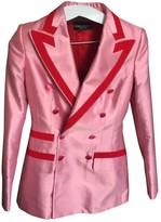Dolce & Gabbana Pink Silk Jacket for Women
