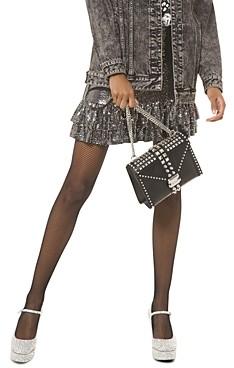MICHAEL Michael Kors Tiered Metallic Dot Embellished Skirt