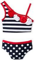 Flapdoodles Infant Girls) Two-Piece Printed Bikini