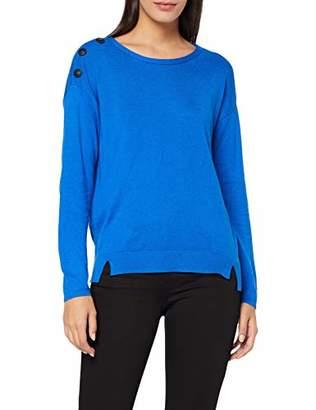 Taifun Women's 472018-15305 Jumper, (Cobalt Blue 8050), Small