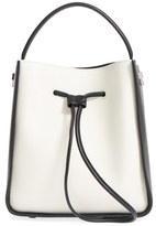 3.1 Phillip Lim 'Small Soleil' Colorblock Bucket Bag - White
