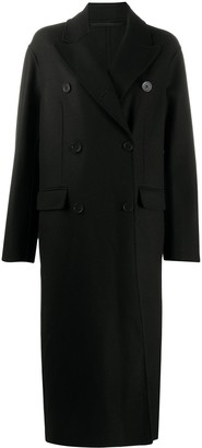 Ann Demeulemeester Double-Breasted Midi Coat