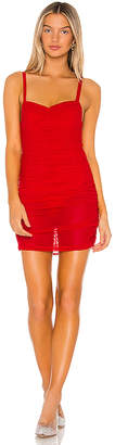 superdown Darlene Mesh Mini Dress