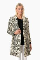 Emerson Fry Leopard Wingtip Coat