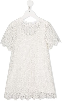 Chloé Kids Lace Dress