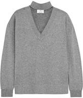 Allude Metallic Wool-blend Sweater