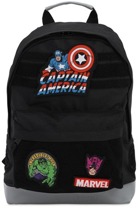 Fabric Flavours Marvel Canvas Backpack W/ Patches