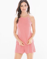 Soma Intimates High Neck Cami and Shorts Pajama Set