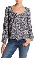 Gypsy 05 Gypsy05 Printed Long Sleeve Blouse