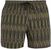 DAN WARD Tie-dye print swimshorts