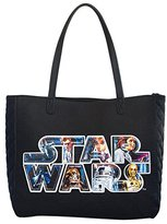 Loungefly Star Wars Applique Logo Tote Bag