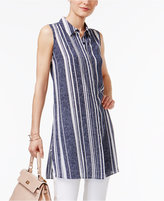 Alfani Printed Tunic Shirt, Only at Macy's