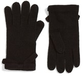 Kate Spade Contrast Bow Tech Friendly Gloves