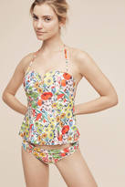 Anthropologie Peplum Swim Tankini