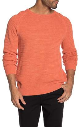 Weatherproof Vintage Crew Neck Raglan Sleeve Knit Sweater