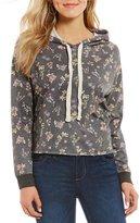 Living Doll Floral Printed Hoodie Sweatshirt