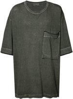 Yohji Yamamoto Loose Big Ink Dye T-shirt