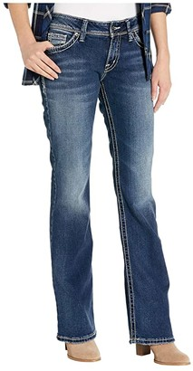 Silver Jeans Co. Suki High-Rise Curvy Fit Bootcut Jeans L9516SJB376 (Indigo) Women's Jeans