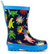 Hatley Kids Mega Monsters Rubber Rain Boots