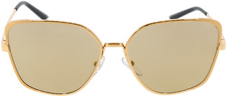 Prada Pink and Gold Butterfly Sunglasses