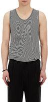 Robert Geller Men's Striped Cotton Jersey Layering Tank