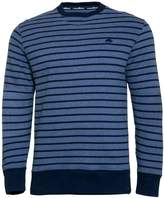 Men's Raging Bull Big & Tall Stripe Crew Sweater