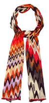 Missoni Printed Sheer Scarf