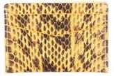 Byredo Bicolor Snakeskin Cardholder w/ Tags