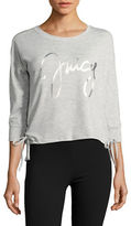 Juicy Couture Lace-up Logo Pajama Top