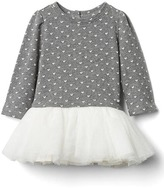 Gap Heart jacquard tutu dress
