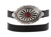 Forever 21 FOREVER 21+ Etched Medallion Wrap Bracelet