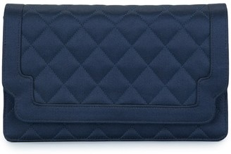 Chanel Pre-Owned 1989-1991 quilted clutch hand bag