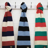 Savile Rogue Rugga Cashmere Rugby Scarf In Various Team Colours