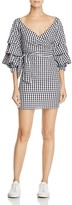 Do and Be Gingham Wrap Dress - 100% Exclusive