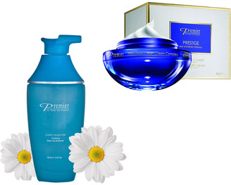 Premier Luxury Skin Care Premier Dead Sea Cosmetics Anti-Aging & Firming Luxury Night Routine Set