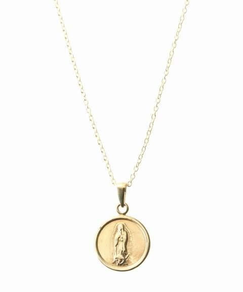 FRAMe WORK (フレーム ワーク) - FRAMeWORK Chibi jewels ラウンドメダルネックレス