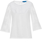 MiH Jeans Cell broderie-anglaise top
