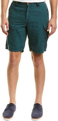 Robert Graham Mccallister Casualclassic Fit Linen-Blend Short
