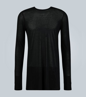 Rick Owens Level long-sleeved T-shirt