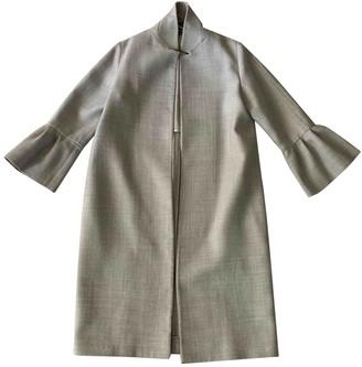Jigsaw Grey Wool Coats