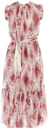 Zimmermann Printed Midi Dress